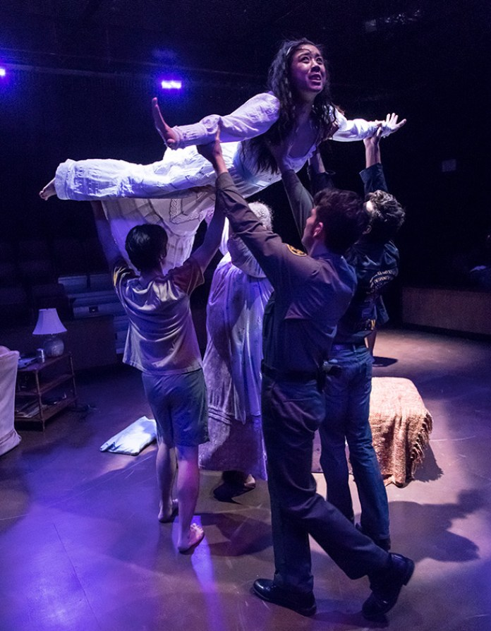 """UCSB Theater & Dance Dept. production of Octavio Solis's """"Lydia"""" 2/15/17 UCSB Performing Arts Theater"""