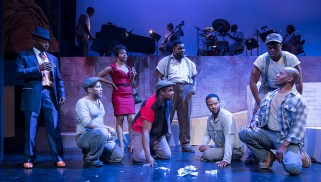 """Ensemble Theatre Company's production of """"Porgy and Bess"""" 2/8/17 the New Vic Theatre"""