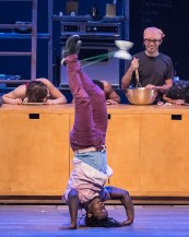 """7 Fingers' """"Cuisine & Confessions"""" presented by UCSB Arts & Lectures 2/6/17 The Granada Theatre"""