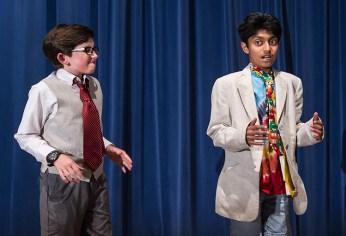 "Upstarts! Youth Theater's production of Emma Jane Huerta's ""Mabreath"" 3/15/17 Peabody Charter School"