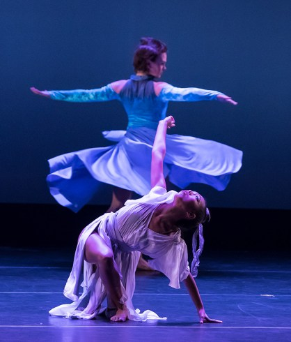 """""""Towards the Yin"""" by Kelli Forman - UCSB Theater & Dance Spring Dance Concert 4/13/17 Hatlen Theater"""