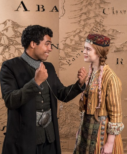 """UCSB Dept. of Theater & Dance - publicity photos for Berthold Brecht's """"The Caucasian Chalk Circle"""" 5/11/17 UCSB Studio Theater"""