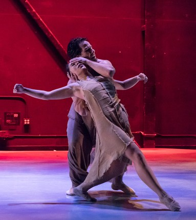 "Terra Liu & Ryan Camou in Gina Patterson's ""The Call"" - State Street Ballet 5/12/17 The New Vic Theatre"