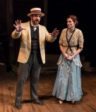 """Zander Meisner as Henry and Sara Brophy as Anna in Alan Knee's """"Syncopation"""" - Ensemble Theatre Co. 6/7/17 The New vic Theatre"""