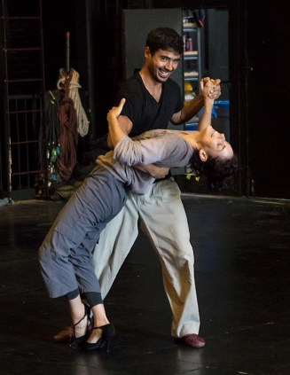 Daniel del Valle Escobar & Nicole Vaughan-Diaz 8/11/17 The Lobero Theatre