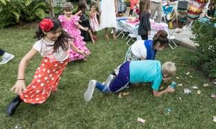 Finally, the loot! Susanna Vapnek's Fiesta Party 8/5/17 Susanna Vapnek's residence