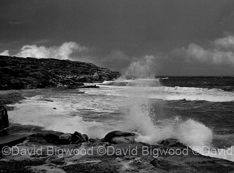 Stormy day. Long Bay, Sydney, NSW, Australia