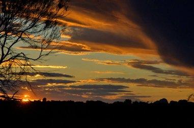 Sunset Central Australia