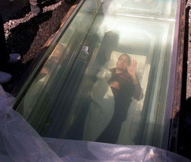 Buried Alive David Blaine