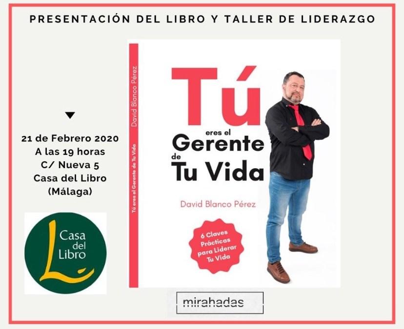 Presentación Libro en la Casa del Libro de Málaga