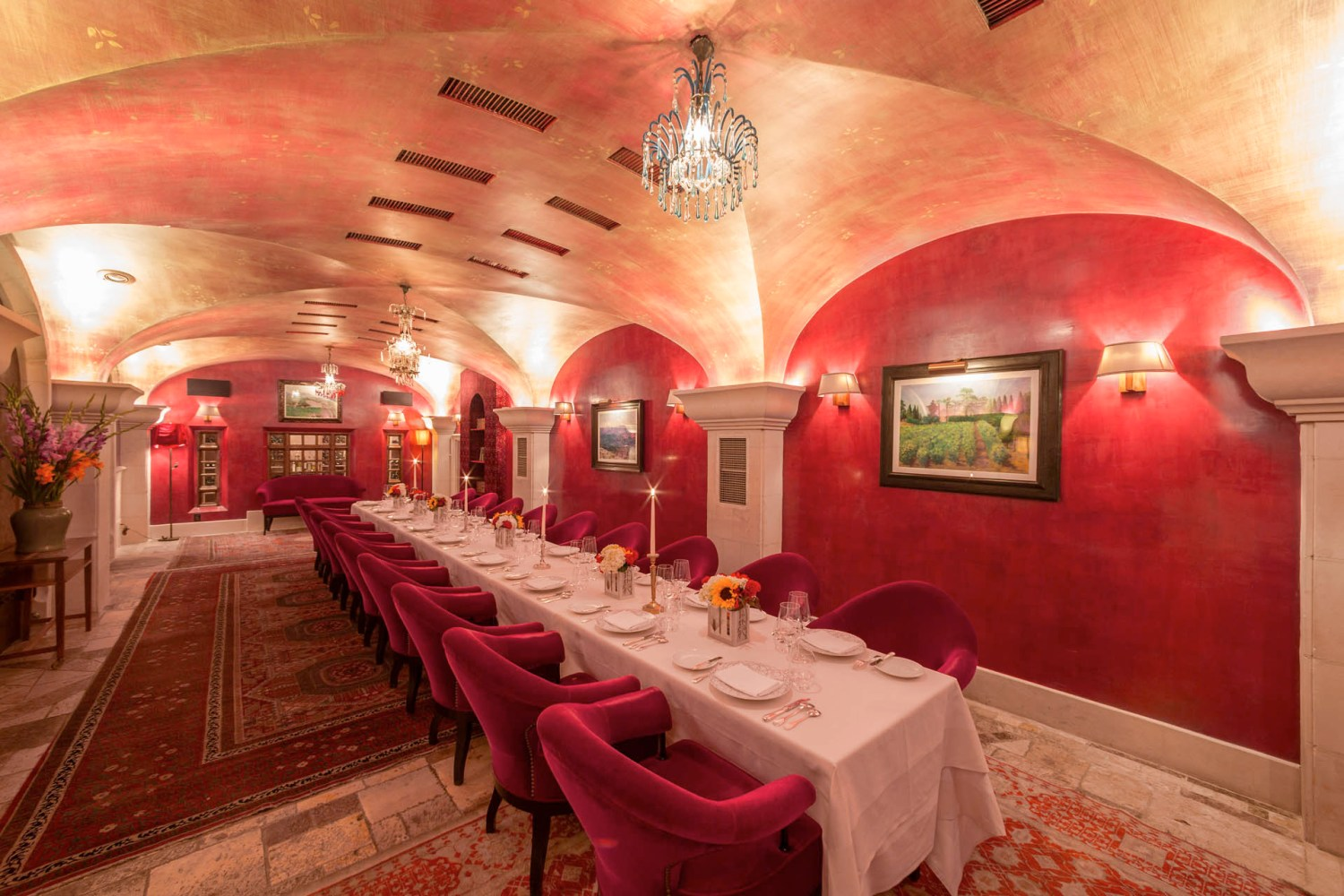 Bouley Red Room (History - Bouley at 163 Duane in the Mohawk Building)