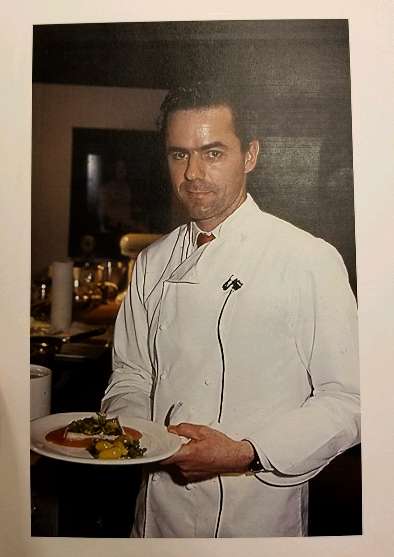 Chef David Bouley at the Original Bouley Restaurant