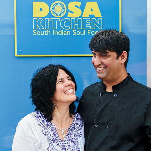 Nash Patel and Leda Scheintaub