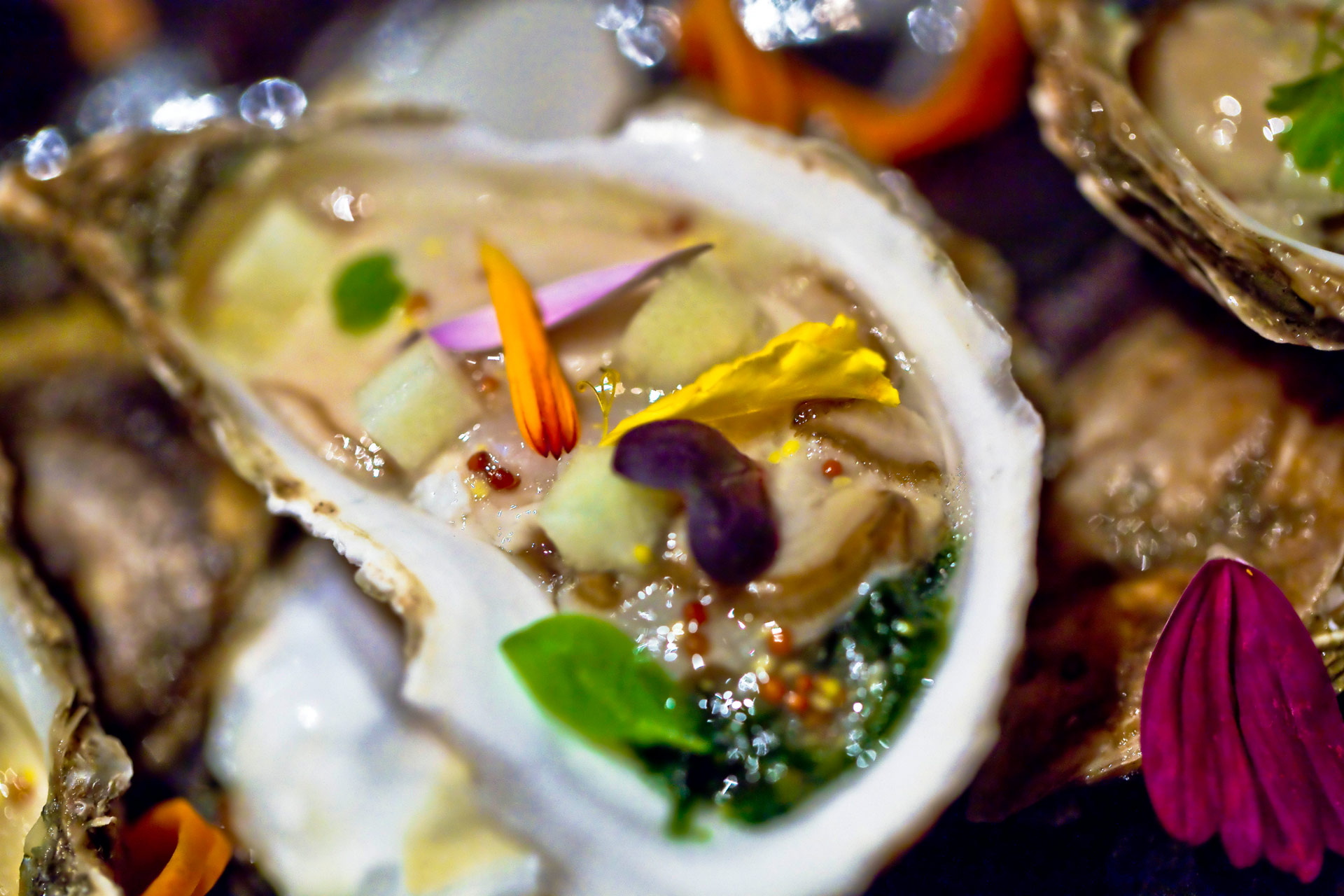 Oysters and Champagne Celebration · Bouley at Home