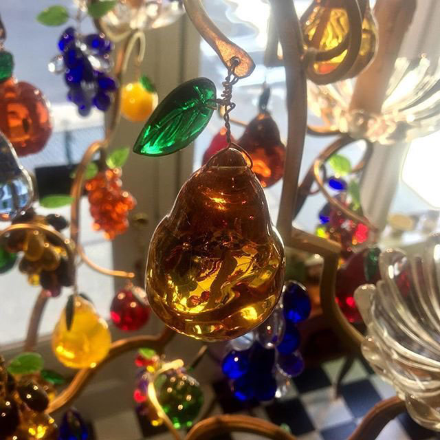 Chrystal Fruit Chandelier for Sale