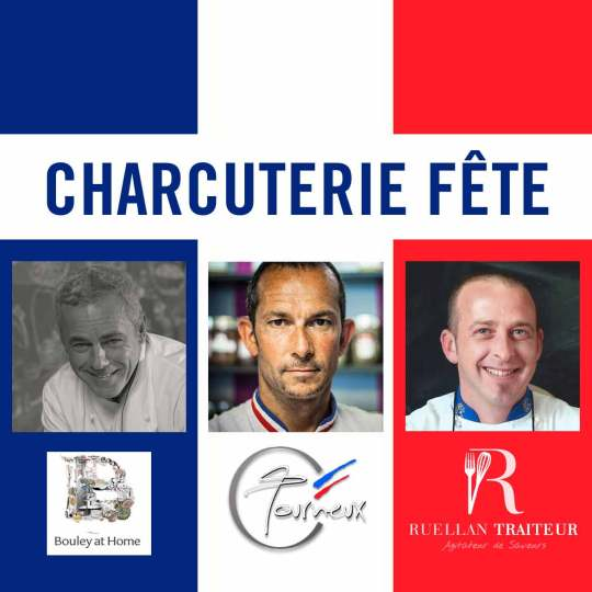 Charcuterie Fete at Bouley Test Kitchen