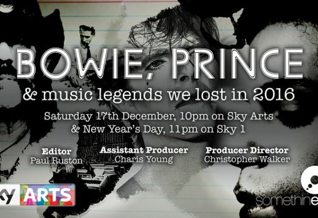 Bowie, Music Legends We Lost In 2016 (Sky Arts)