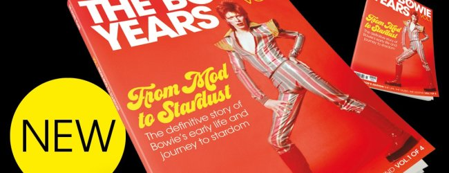 Competition! Win one of TEN copies of new publication The Bowie Years Vol. 1