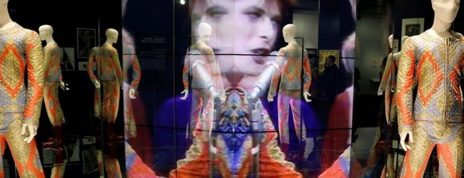 Hear how Tony Visconti captured Bowie's career in a 15-minute remix for the David Bowie is exhibition!