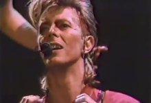 David Bowie – Never Let Me Down (1987 MTV Awards)