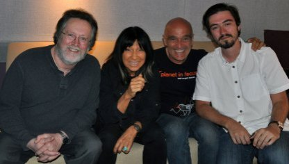 David, Buffy Sainte-Marie, Chris & Jim