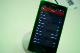 Benchmark Nokia XL