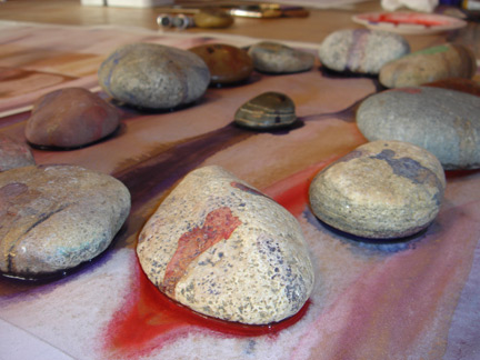 Fossils in progress - drying