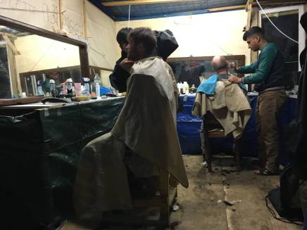 The barbers for a NY cut!
