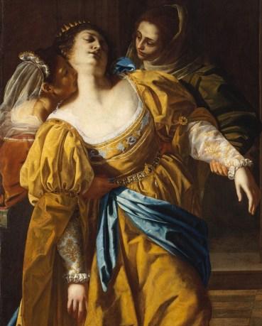 Artemisia Gentileschi, Esther before Ahasuerus (detail) (c 1626-9)