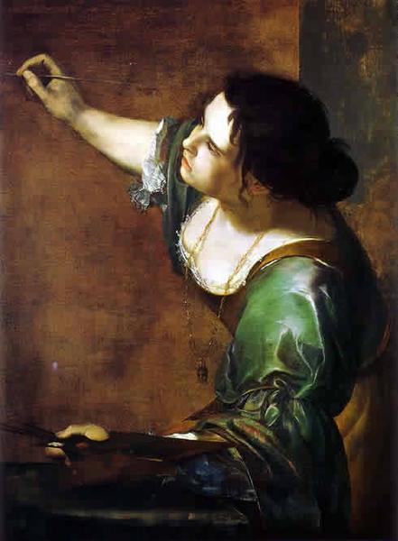 Artemisia Gentileschi, Self-Portrait as the Allegory of Painting, 1638-9