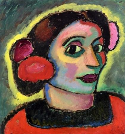 1911 Alexej von Jawlensky (Russian artist, 1864-1941) Spanish Woman