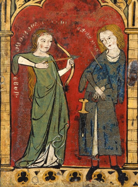 14th century painting
