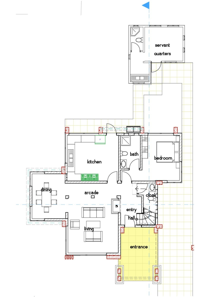 Conte 4 Bedroom House Design David Chola Architect