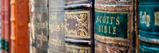 bibles-on-shelf