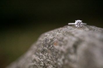 Customized Forevermark Engagement Ring