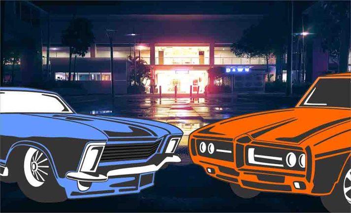 Diversos veículos carros motos e caminhões