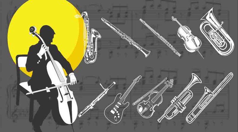Pacote de desenhos tema musica e arte 2021