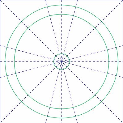 Arabesco Octogramas Linhas Principais