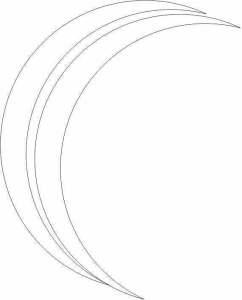 CorelDRAW Efeito reflexo meia lua duplicado bolha de sabão