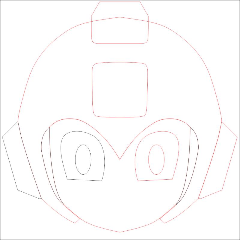 Mega Man Ornamentos Orelhas
