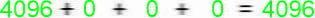 Conversões Resultado hexadecimal decimal