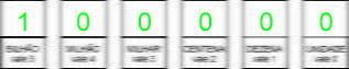 Conversões tabela binário