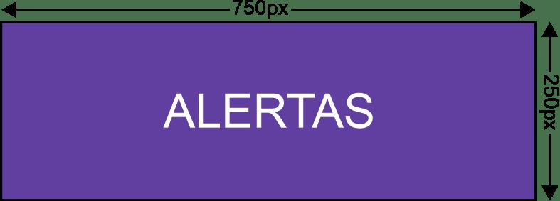 Twitch Alertas 750x250