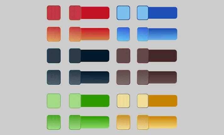 Imagens Botões Quadrados Vetores CDR e AI