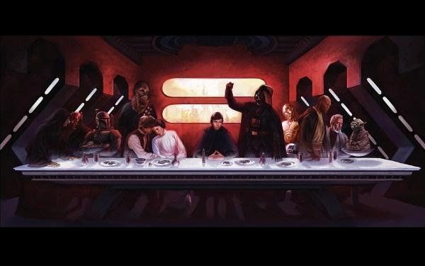 Star Wars Last Supper
