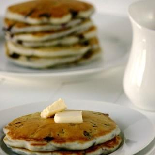 Blueberry-Lemon Pancakes