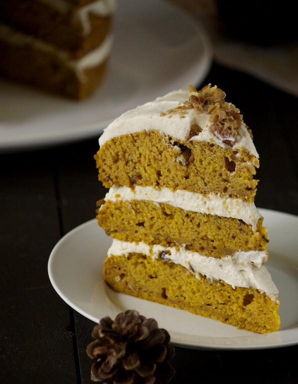 Pumpkin Pecan Cake 05