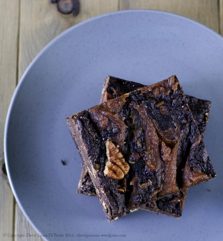 Caramel Swirl Pecan Brownies 03