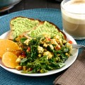 Bell Pepper and Kale Tofu Scramble