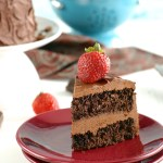 Gluten-Free Chocolate Cake, Refined Sugar-Free